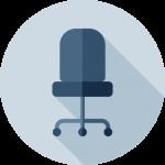 Departamento de mobiliario y sillería para oficinas